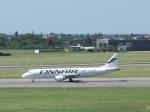 aquaさんが、ワルシャワ・フレデリック・ショパン空港で撮影したフィンエアー ERJ-190-100 LR (ERJ-190LR)の航空フォト(飛行機 写真・画像)