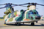 ちゃぽんさんが、茨城空港で撮影した航空自衛隊 CH-47J/LRの航空フォト(写真)