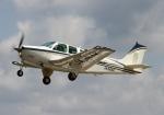 LOTUSさんが、八尾空港で撮影したエアロスペースナガノ A36 Bonanza 36の航空フォト(写真)