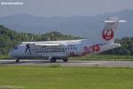 イチカメさんが、天草飛行場で撮影した日本エアコミューター ATR-42-600の航空フォト(写真)
