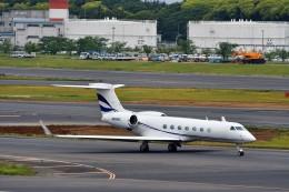 T.Sazenさんが、成田国際空港で撮影したウェルズ・ファーゴ・バンク・ノースウェスト G500/G550 (G-V)の航空フォト(飛行機 写真・画像)