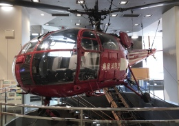 消防博物館で撮影された東京消防庁航空隊 - Tokyo Fire Departmentの航空機写真
