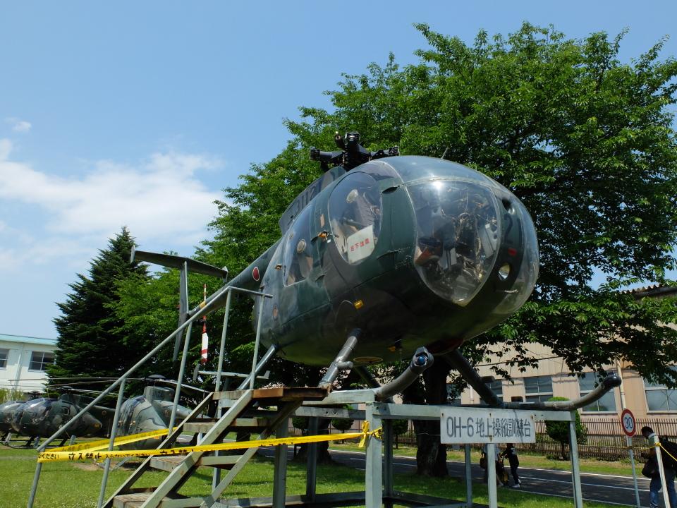 Smyth Newmanさんの陸上自衛隊 Kawasaki OH-6D (31121) 航空フォト