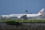 南国の防人さんが、那覇空港で撮影した日本航空 777-246の航空フォト(写真)