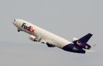 ハピネスさんが、関西国際空港で撮影したフェデックス・エクスプレス MD-11Fの航空フォト(飛行機 写真・画像)