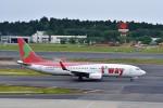T.Sazenさんが、成田国際空港で撮影したティーウェイ航空 737-86Jの航空フォト(飛行機 写真・画像)