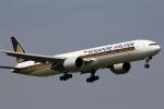 VFRさんが、成田国際空港で撮影したシンガポール航空 777-312/ERの航空フォト(写真)