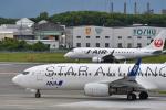 Nikon787さんが、松山空港で撮影した全日空 737-881の航空フォト(写真)