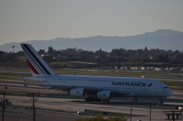 nontan8さんが、ロサンゼルス国際空港で撮影したエールフランス航空 A380-861の航空フォト(飛行機 写真・画像)