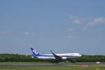 senbaさんが、成田国際空港で撮影した全日空 767-381/ERの航空フォト(写真)