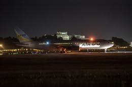 コージーさんが、成田国際空港で撮影したAIR DO 767-381の航空フォト(写真)