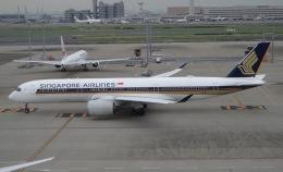 Lovely-Akiさんが、羽田空港で撮影したシンガポール航空 A350-941の航空フォト(飛行機 写真・画像)