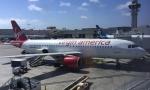 Lovely-Akiさんが、ロサンゼルス国際空港で撮影したヴァージン・アメリカ A320-214の航空フォト(飛行機 写真・画像)
