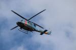 航空研究家さんが、岐阜基地で撮影した岐阜県警察 412EPの航空フォト(写真)