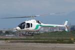 ゴンタさんが、名古屋飛行場で撮影したセコインターナショナル 505 Jet Ranger Xの航空フォト(写真)