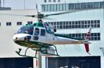 Soraya_Projectさんが、東京ヘリポートで撮影したアカギヘリコプター AS350B2 Ecureuilの航空フォト(写真)