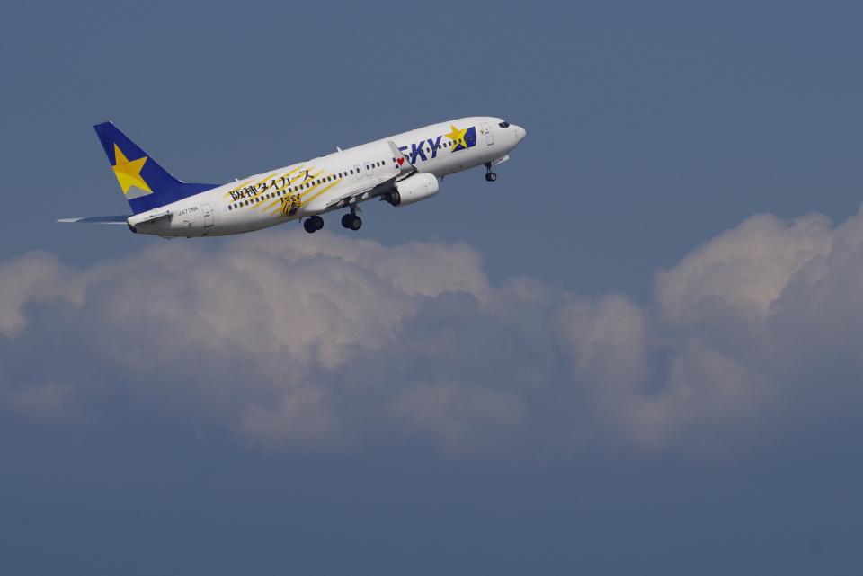 yabyanさんのスカイマーク Boeing 737-800 (JA73NK) 航空フォト