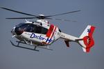 へりさんが、東京ヘリポートで撮影した中日本航空 EC135P2+の航空フォト(写真)