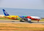 nagareboshiさんが、神戸空港で撮影した全日空 777-281/ERの航空フォト(写真)