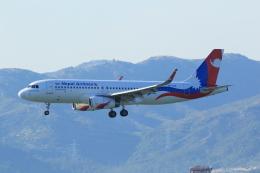 NH642さんが、香港国際空港で撮影したネパール航空 A320-233の航空フォト(飛行機 写真・画像)