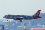 NH642さんが、香港国際空港で撮影したエアアジア A320-216の航空フォト(写真)