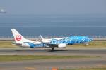 VEZEL 1500Xさんが、中部国際空港で撮影した日本トランスオーシャン航空 737-8Q3の航空フォト(写真)