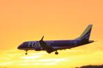 Lucky Manさんが、岡山空港で撮影したフジドリームエアラインズ ERJ-170-200 (ERJ-175STD)の航空フォト(写真)