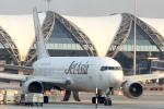 maverickさんが、スワンナプーム国際空港で撮影したジェット・アジア・エアウェイズ 767-2J6/ERの航空フォト(写真)