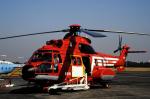 チャーリーマイクさんが、木更津飛行場で撮影した東京消防庁航空隊 AS332L1 Super Pumaの航空フォト(写真)
