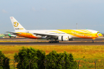 KIMISTONERさんが、台湾桃園国際空港で撮影したノックスクート 777-212/ERの航空フォト(写真)