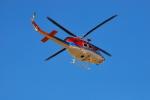 おぶりがーどさんが、松本空港で撮影した長野県消防防災航空隊 412EPの航空フォト(写真)