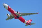 ちゃぽんさんが、成田国際空港で撮影したタイ・エアアジア・エックス A330-343Xの航空フォト(飛行機 写真・画像)
