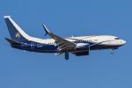 mameshibaさんが、成田国際空港で撮影したボーイング・ビジネス・ジェット 737-77Z BBJの航空フォト(写真)