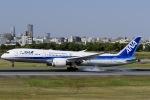 眠たいさんが、伊丹空港で撮影した全日空 787-9の航空フォト(写真)