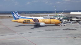 kenmariさんが、那覇空港で撮影した全日空 777-281/ERの航空フォト(写真)