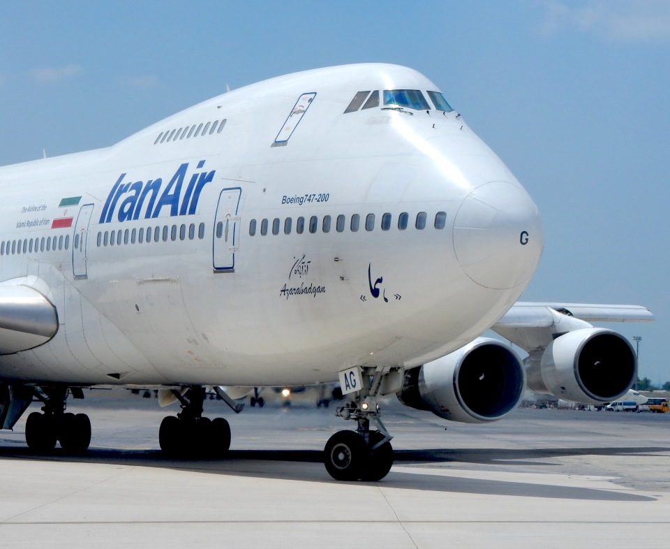 cornicheさんのイラン航空 Boeing 747-200 (EP-IAG) 航空フォト