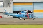 YASKYさんが、群馬ヘリポートで撮影した群馬県警察 A109E Powerの航空フォト(写真)