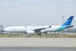 水月さんが、関西国際空港で撮影したガルーダ・インドネシア航空 A330-341の航空フォト(写真)