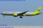 Chofu Spotter Ariaさんが、関西国際空港で撮影したジンエアー 777-2B5/ERの航空フォト(飛行機 写真・画像)
