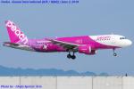 Chofu Spotter Ariaさんが、関西国際空港で撮影したピーチ A320-214の航空フォト(飛行機 写真・画像)