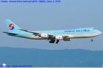 Chofu Spotter Ariaさんが、関西国際空港で撮影した大韓航空 747-8B5F/SCDの航空フォト(飛行機 写真・画像)