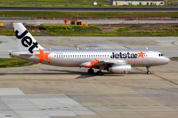 Jeffrey.Wさんが、メルボルン空港で撮影したジェットスター A320-232の航空フォト(飛行機 写真・画像)