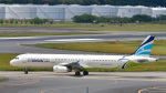 パンダさんが、成田国際空港で撮影したエアプサン A321-231の航空フォト(写真)