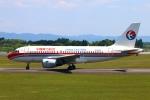 Kuuさんが、鹿児島空港で撮影した中国東方航空 A319-115の航空フォト(飛行機 写真・画像)