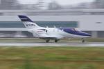 サボリーマンさんが、松山空港で撮影したホンダ・エアクラフト・カンパニー HA-420の航空フォト(写真)