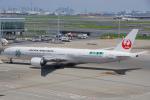 ちゃぽんさんが、羽田空港で撮影した日本航空 777-346/ERの航空フォト(写真)