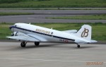 レドームさんが、福島空港で撮影したスーパーコンステレーション飛行協会 DC-3Aの航空フォト(写真)