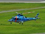 ナナオさんが、石見空港で撮影した島根県警察 A109E Powerの航空フォト(写真)