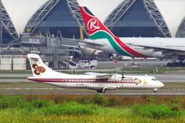 まいけるさんが、スワンナプーム国際空港で撮影したタイ国際航空 ATR 72-201の航空フォト(飛行機 写真・画像)