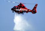 チャーリーマイクさんが、立川飛行場で撮影した東京消防庁航空隊 SA365N1 Dauphin 2の航空フォト(写真)